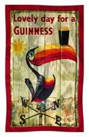Image for Guinness Toucan Nostalgia Collection Tea Towel