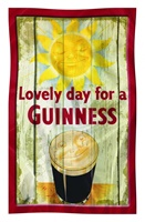 Image for Guinness Sunny Pint Tea Towel