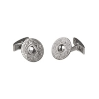 Image for Small Warrior Cufflinks Sterling Silver