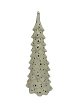 Image for Lighted Ceramic Christmas Tree with Shamrocks
