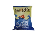 Image for Keoghs Atlantic Sea Salt and Irish Cider Crisps 125g