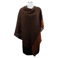 Image for Bill Baber Donegal Wool Bronze Shawl
