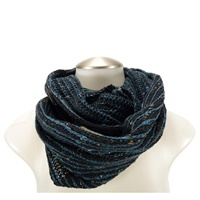 Image for Bill Baber Donegal Wool Snood - Infinity Scarf, Jewel