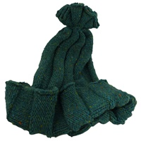 Image for Bill Baber Hand Loomed Jura Hat, Dark Turquoise