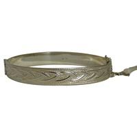 Image for Celtic Weave Sterling Silver Bangle