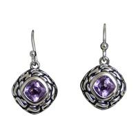Image for Inis Aran Square Drop Earrings