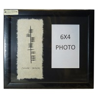 Image for Ogham Name Photo Frame -Special Order