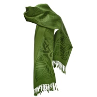 Image for Patrick Francis Forest Green Pashmina Scarf