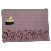 Image for 100% Lambswool John Hanly Baby Blanket, Pink