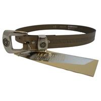 Image for Lee River Leather Triskle Belt, Lichen