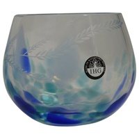 Image for Irish Handmade Glass Wild Atlantic Candle Votive