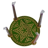 Image for Celtic Star Advent With Candles