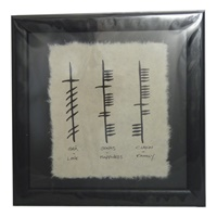 "Image for Ogham Wish "" Love, Happiness, Family"""