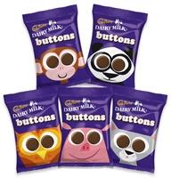 Image for Cadbury Dairy Milk Chocolate Buttons 28g