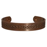 Image for Copper Celtic Knot Plain Bracelet with Magnet