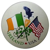 "Image for 15"" Waltons Irish USA Flag Rim Design"
