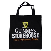 Image for Guinness Storehouse Black Cloth Market Bag
