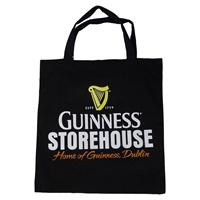 Image for Guinness Storehouse Black Cloth Market Bag