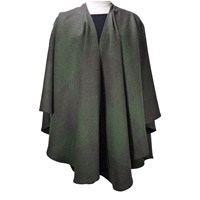 Image for Hand Woven Ladies Shawl, Forest Green