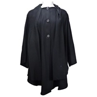 Image for Ladies Long Cape, Black