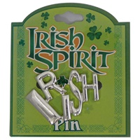 Image for Irish Spirit Pin- Silver
