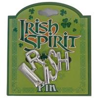 Image for Irish Spirit Pin- Silver