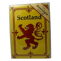 Image for Scotland Nostalgia Metal Sign, 21cm x 15cm