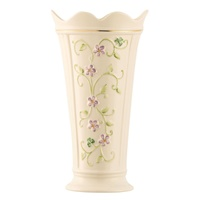 Image for Belleek Irish Flax Vase 9.5 Inch