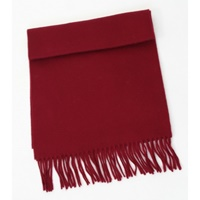 Image for 100% Pure Lambswool Scarf - Wine
