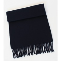 Image for 100% Pure Lambswool Scarf - Black