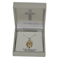Image for Communion Chalice Locket Sterling Silver