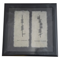 """Image for Ogham Wish """"Strength, Courage"""""""