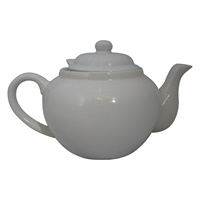 Image for 2 Cup White Teapot and Infuser