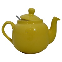 Image for 4 Cup Yellow Teapot with Filter