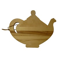 Image for Wooden Teapot Cutting Board