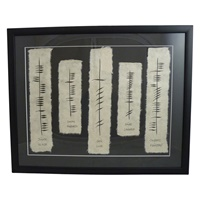 """Image for Ogham Wish """" Health, Happiness, Love, Laughter, Frienship"""""""
