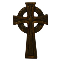 Image for Small Bronze Finish Cross
