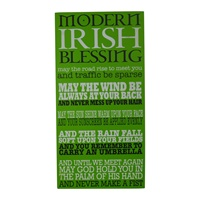Image for Modern Irish Blessing Deco