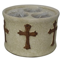 Image for Tri Tealight Cross Piece
