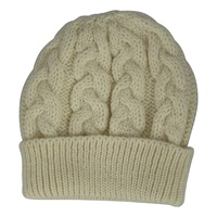 Image for Chunky Cable Hat- Natural