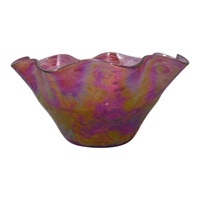 Image for Glass Eye Studio Pink Bowl