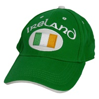 Image for Ireland with Flag Cap