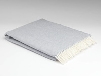 Image for Supersoft Smoke Herringbone Throw Blanket