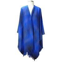 Image for Celtic Ruana, Blue Check