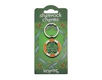 Image for Revolving Shamrock Keyring
