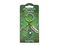Image for St. Brigids Cross Charms Keyring