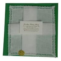 Image for Magic Wedding Hanky-Irish Linen Narrow