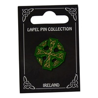 Image for Polyresin Broach, Celtic Cross