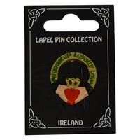 Image for Polyresin Broach, Claddagh