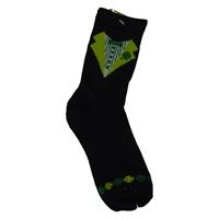 Image for Shamrock Tuxedo Socks